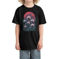 lurking forest - kids-tee - small view