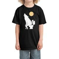Howling At Night - kids-tee - small view