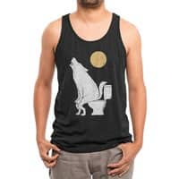 Howling At Night - mens-triblend-tank - small view
