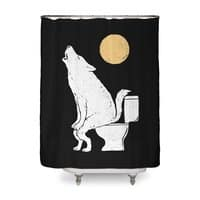 Howling At Night - shower-curtain - small view