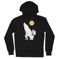 Howling At Night - unisex-lightweight-pullover-hoody - small view