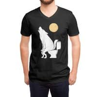 Howling At Night - vneck - small view
