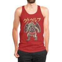 Kaiju Cthulhu - mens-jersey-tank - small view