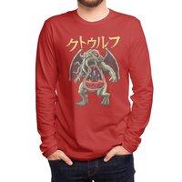 Kaiju Cthulhu - mens-long-sleeve-tee - small view