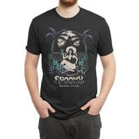 Spooky Beach - mens-triblend-tee - small view