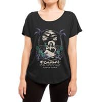 Spooky Beach - womens-dolman - small view