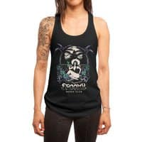 Spooky Beach - womens-racerback-tank - small view