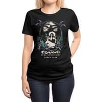 Spooky Beach - womens-regular-tee - small view