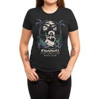 Spooky Beach - womens-triblend-tee - small view