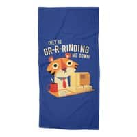 GR-R-Rinding Me Down - beach-towel - small view
