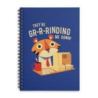 GR-R-Rinding Me Down - spiral-notebook - small view