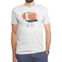 Log Off - mens-triblend-tee - small view