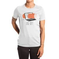 Log Off - womens-extra-soft-tee - small view