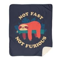Not Fast, Not Furious - blanket - small view