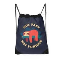 Not Fast, Not Furious - drawstring-bag - small view