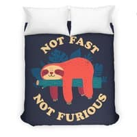 Not Fast, Not Furious - duvet-cover - small view