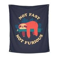 Not Fast, Not Furious - indoor-wall-tapestry-vertical - small view