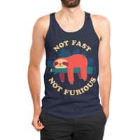 Not Fast, Not Furious - mens-jersey-tank - small view