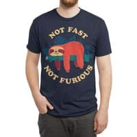 Not Fast, Not Furious - mens-triblend-tee - small view