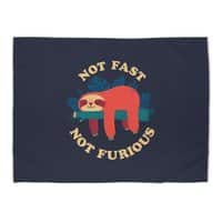 Not Fast, Not Furious - rug-landscape - small view