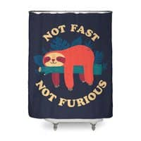 Not Fast, Not Furious - shower-curtain - small view
