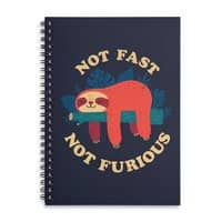 Not Fast, Not Furious - spiral-notebook - small view