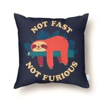 Not Fast, Not Furious - throw-pillow - small view