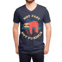 Not Fast, Not Furious - vneck - small view