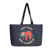 Not Fast, Not Furious - weekender-tote - small view