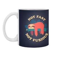 Not Fast, Not Furious - white-mug - small view