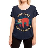 Not Fast, Not Furious - womens-dolman - small view