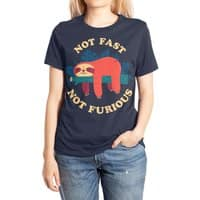 Not Fast, Not Furious - womens-extra-soft-tee - small view