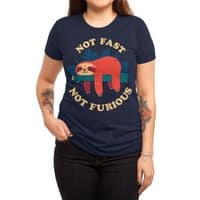 Not Fast, Not Furious - womens-triblend-tee - small view