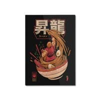 Spicy Shoryu Noodles - vertical-mounted-aluminum-print - small view