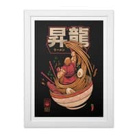 Spicy Shoryu Noodles - white-vertical-framed-print - small view