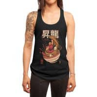 Spicy Shoryu Noodles - womens-racerback-tank - small view