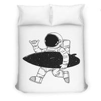 Space Surfer - duvet-cover - small view