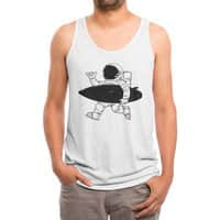 Space Surfer - mens-triblend-tank - small view