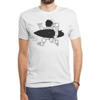 Space Surfer - mens-triblend-tee - small view
