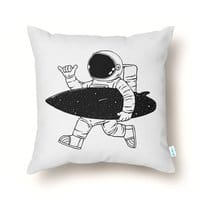 Space Surfer - throw-pillow - small view