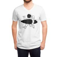 Space Surfer - vneck - small view