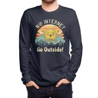 No Internet Vibes! - mens-long-sleeve-tee - small view