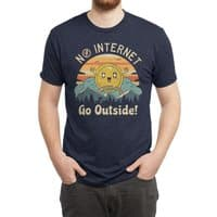 No Internet Vibes! - mens-triblend-tee - small view