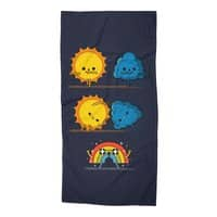 Meteorological Fusion! - beach-towel - small view