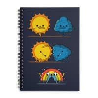 Meteorological Fusion! - spiral-notebook - small view