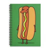 Snot Dog! - spiral-notebook - small view