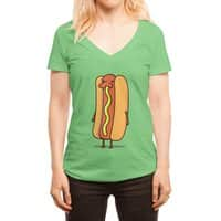 Snot Dog! - womens-deep-v-neck - small view