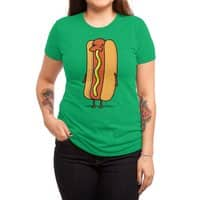 Snot Dog! - womens-triblend-tee - small view