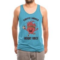 HEART RACE - mens-triblend-tank - small view