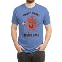 HEART RACE - mens-triblend-tee - small view